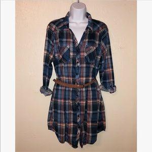 🌟Passport🌟 Shirt Dress